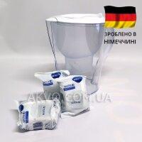 Brita Marella XL 3х MAXTRA + Фільтр-глечик для очищення води білий