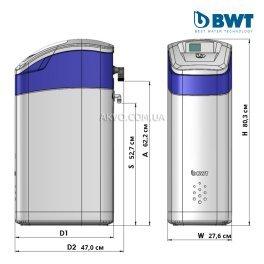 BWT Perla Silk XL Умягчитель води - Фото№3