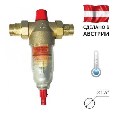 BWT EUROPAFILTER RS (RF) 1½˝ Сітчастий фільтр механічного очищення води- Фото№1