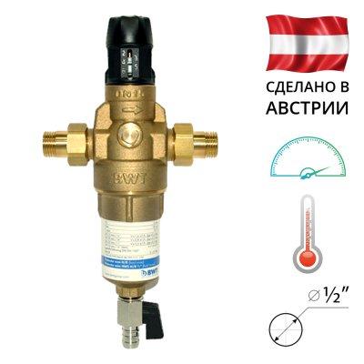 BWT Protector mini H / R HWS 1 / 2˝ Самопромивні фільтр з редуктором тиску для гарячої води- Фото№1