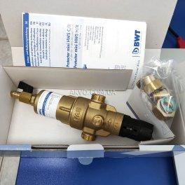 BWT Protector mini H / R HWS 1 / 2˝ Самопромивні фільтр з редуктором тиску для гарячої води - Фото№7