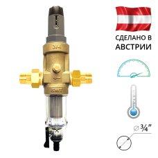 BWT Protector mini C/R HWS 3/4˝ Самопромывной фильтр с редуктором давления для холодной воды