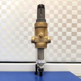 BWT Protector mini C/R HWS 3/4˝ Самопромывной фильтр с редуктором давления для холодной воды - Фото№3