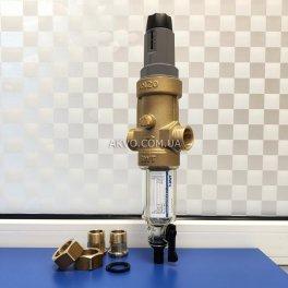 BWT Protector mini C/R HWS 3/4˝ Самопромывной фильтр с редуктором давления для холодной воды - Фото№4