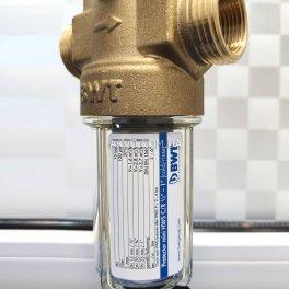 BWT Protector mini C/R HWS 3/4˝ Самопромывной фильтр с редуктором давления для холодной воды - Фото№6