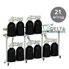 Delta ONTARIO 1000 Промышленная система умягчения воды