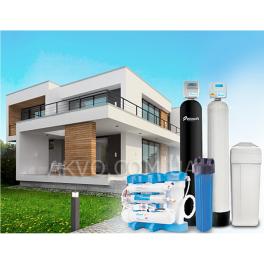 Ecosoft Комплект обладнання Преміум для очищення води в котеджі  з 2-3 санвузлами - Фото№4