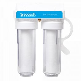 """ECOSOFT Фільтр для холодної води подвійний 3/4 """" - Фото№2"""