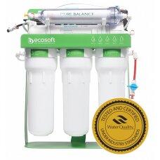 Фильтр обратного осмоса Ecosoft P'URE BALANCE с помпой на станине MO675MBALPSECO