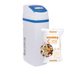 Ecosoft FK1035CABCEMIXC компактный фильтр обезжелезивания и умягчения воды