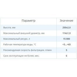 """Картридж для удаления сероводорода Ecosoft GAC-CAT 4,5\""""х10\"""" - Фото№4"""