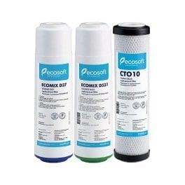 Комплект картриджей для тройных фильтров Ecosoft улучшенный - Фото№3