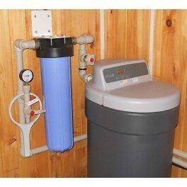 Фильтр умягчитель воды компактный EcoWater GALAXY VDR-14 - Фото№3