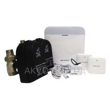 Hikvision Комплект контроля протечки воды 2 крана 2 датчика ДУ15