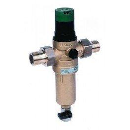 HONEYWELL Mini Plus FK06 1/2AAМ сетчатый самопромывной фильтр механической очистки с редуктором для горячей воды - Фото№4