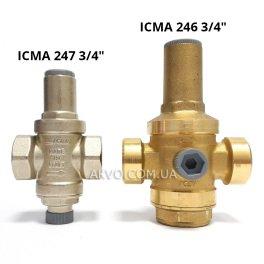 """Редуктор давления воды ICMA 246 3/4"""" - Фото№3"""