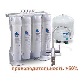 Обратный осмос Leader Comfort RO-75 BIO ION-с структуризатором, минерализатором и ионизатором - Фото№7