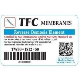 Мембрана осмотическая Microfilter TW30-1812-100 - Фото№6