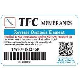 Мембрана осмотическая Microfilter TW30-1812-100 - Фото№5