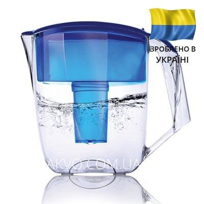 Фильтр-кувшин Ecosoft Наша Вода Максима синий- Фото№1