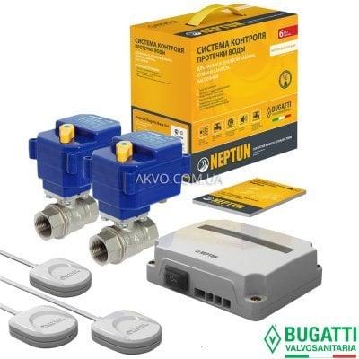 Система контролю протікання води Neptun Bugatti Base 220V 1/2- Фото№1