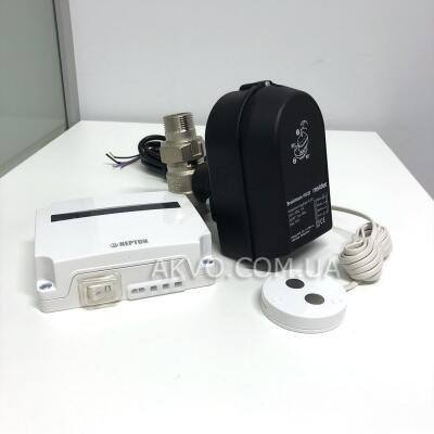 СКПВ Neptun Aquacontrol Light 1/2 с краном Resideo Honeywell - Фото№1