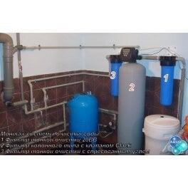 Готовое решение система умягчения, обезжелезивания, удаление органики - для среднего водопотребления до 5 человек - Фото№5