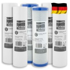 Годовой комплект картриджей Platinum Wasser (нижний ряд)