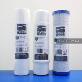Комплект посилених картриджів для фільтра зворотного осмосу Platinum Wasser - Фото№3
