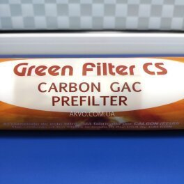 Green Filter CS Carbon Gac Prefilter Puricom