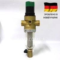 Resideo Braukmann (Honeywell) FK06-1/2AA сітчастий промивний фільтр для холодної води з редуктором