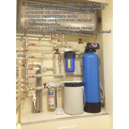 Фильтр умягчитель воды RX-65B3-V1 - Фото№6