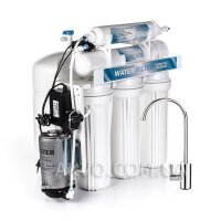 WATER FILTER RO-5 PUMP Бытовой фильтр под мойку с помпой